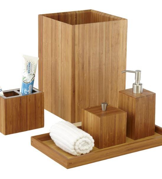 Bamboo 5-piece set