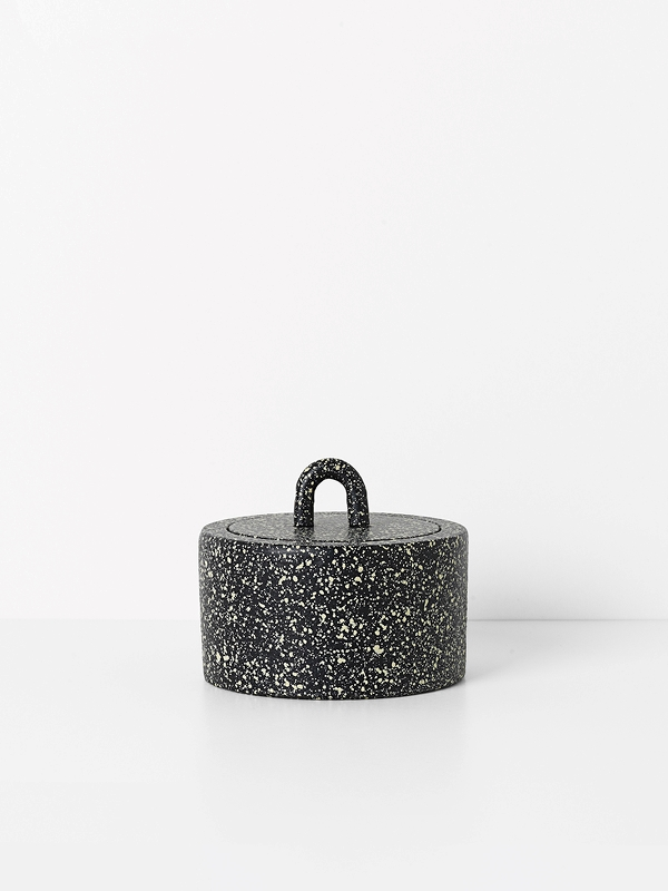 Spotted Buckle Jar
