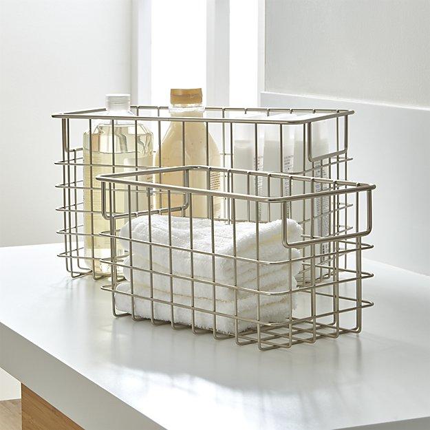 Nickel Wire Baskets