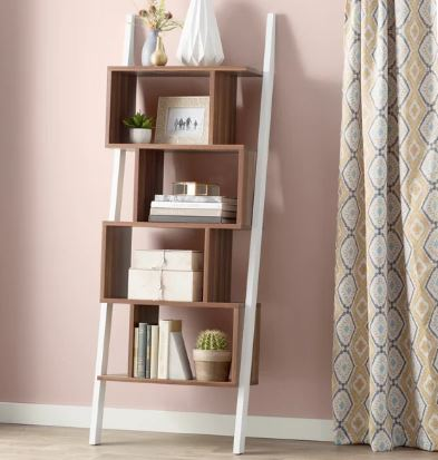 mercury row ladder bookcase