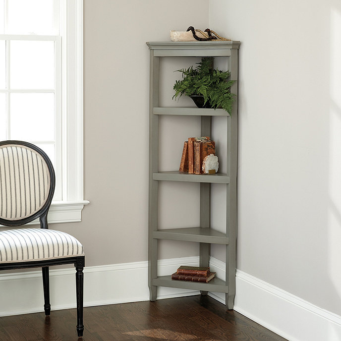 Morgan Corner Bookshelf