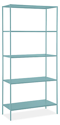 Bookcases in colors