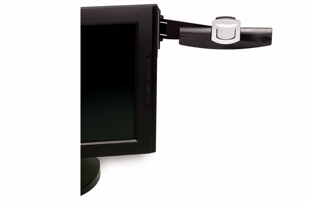 monitor mount document clip