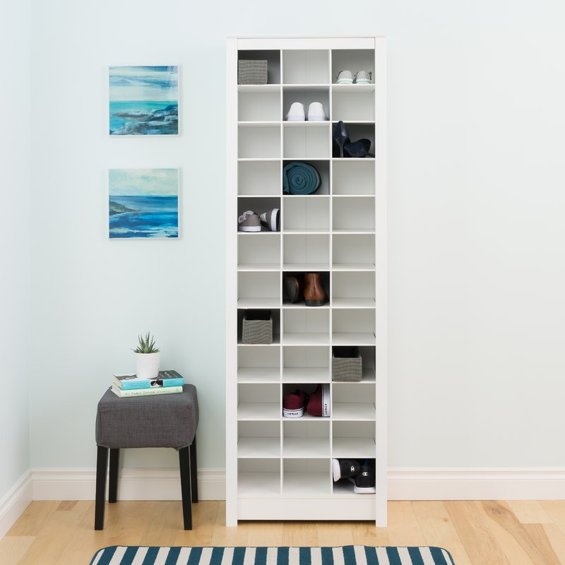 Kahl 36-pair shoe rack