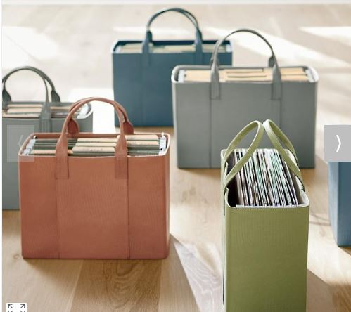 faux leather totes