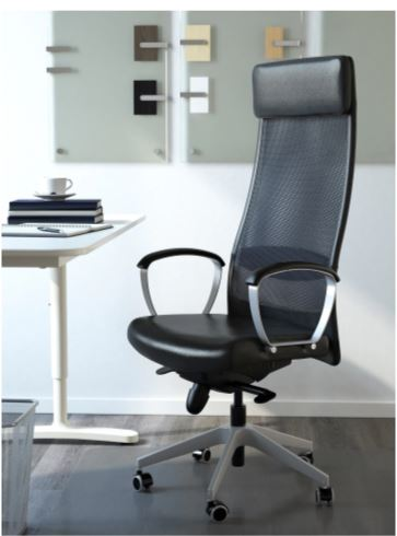 Ikea Marcus swivel chair