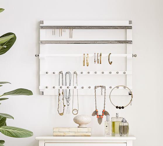 wall mounted jewelry hanger
