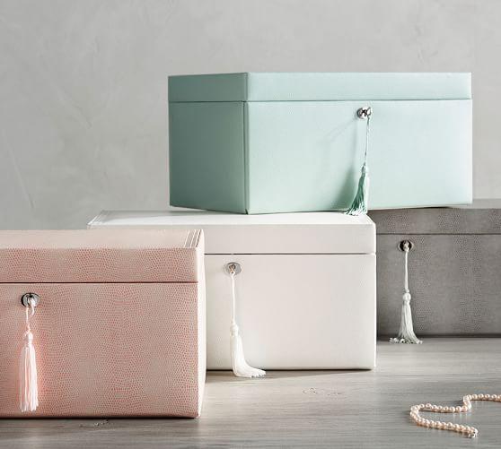 mckenna leather jewelry box