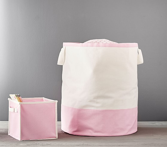 harper canvas storage bin