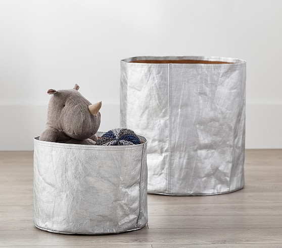metallic tyvek storage bins