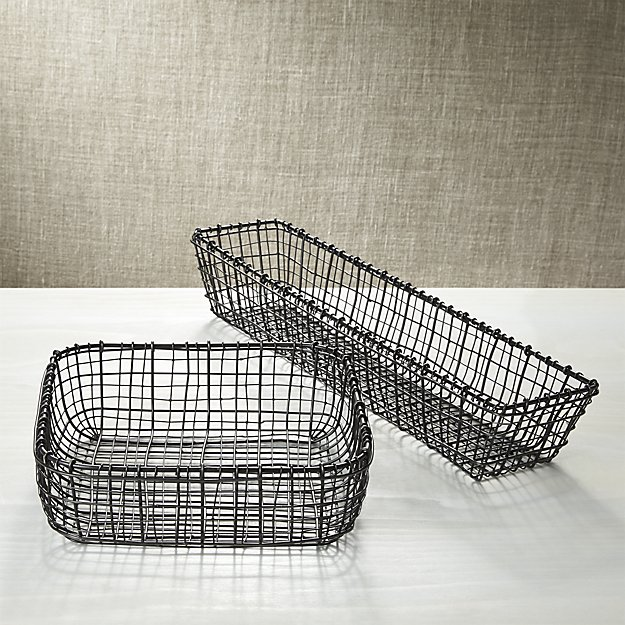 C & B bendt serving baskets