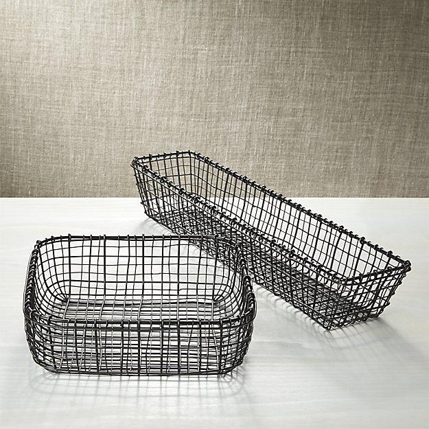 C & B bendt serving baskets