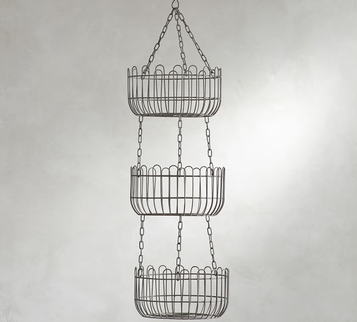 PB farmhouse hanging baskets