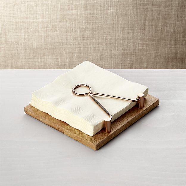 beck napkin holder
