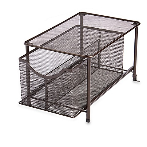 mesh slide-out organizer