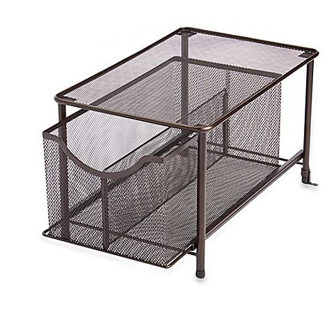 mesh slide-out organizer