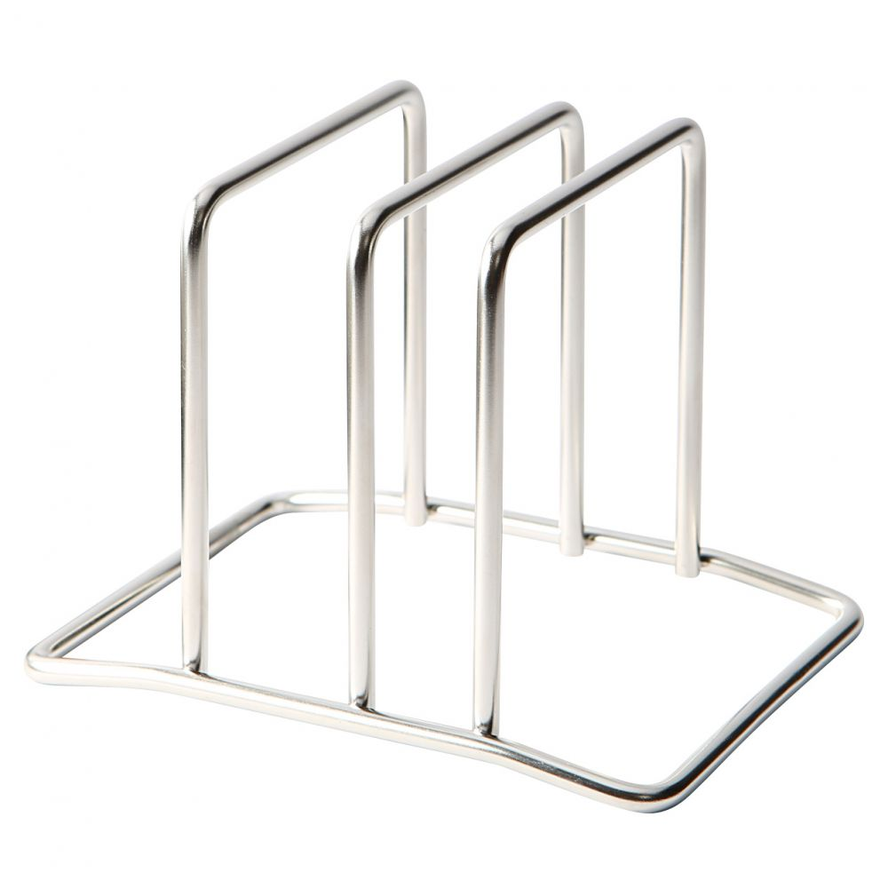 muji cutting board stand
