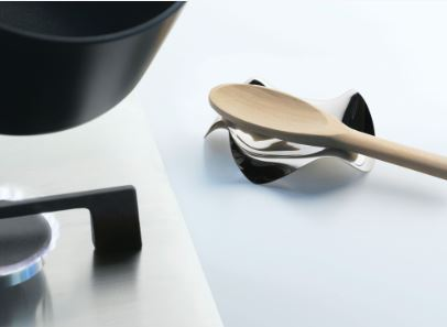 alessi silver spoon holder