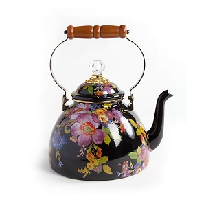 flower market tea kettle
