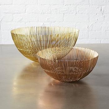 CB2 wire bowls