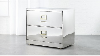 stainless steel wide cabinet