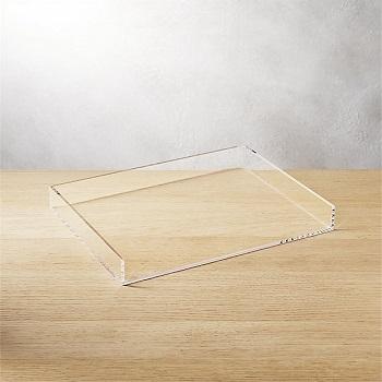 acrylic memo tray