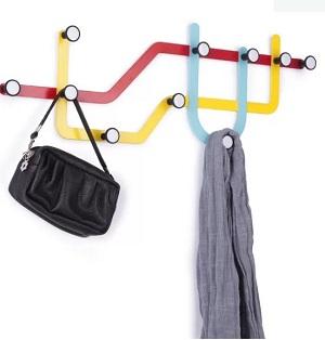 Subway Coat rack