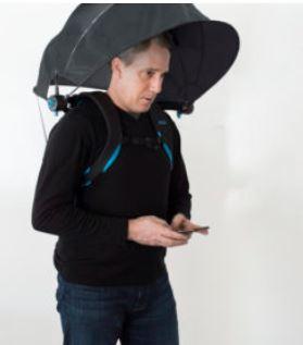 numbrella hands-free umbrella
