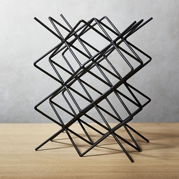 CB2 Ynez wine rack