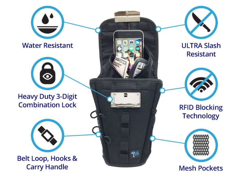 Flexsafe portable safe
