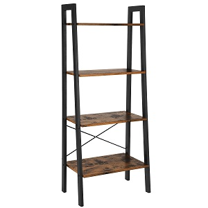 songmics ladder shelf
