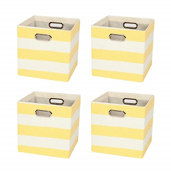posprica storage cubes colors
