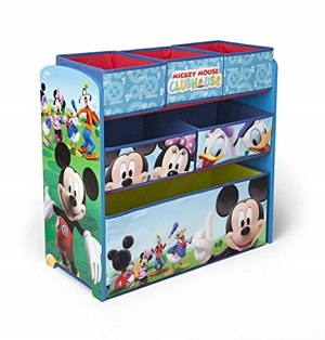 mickey mouse storage bin