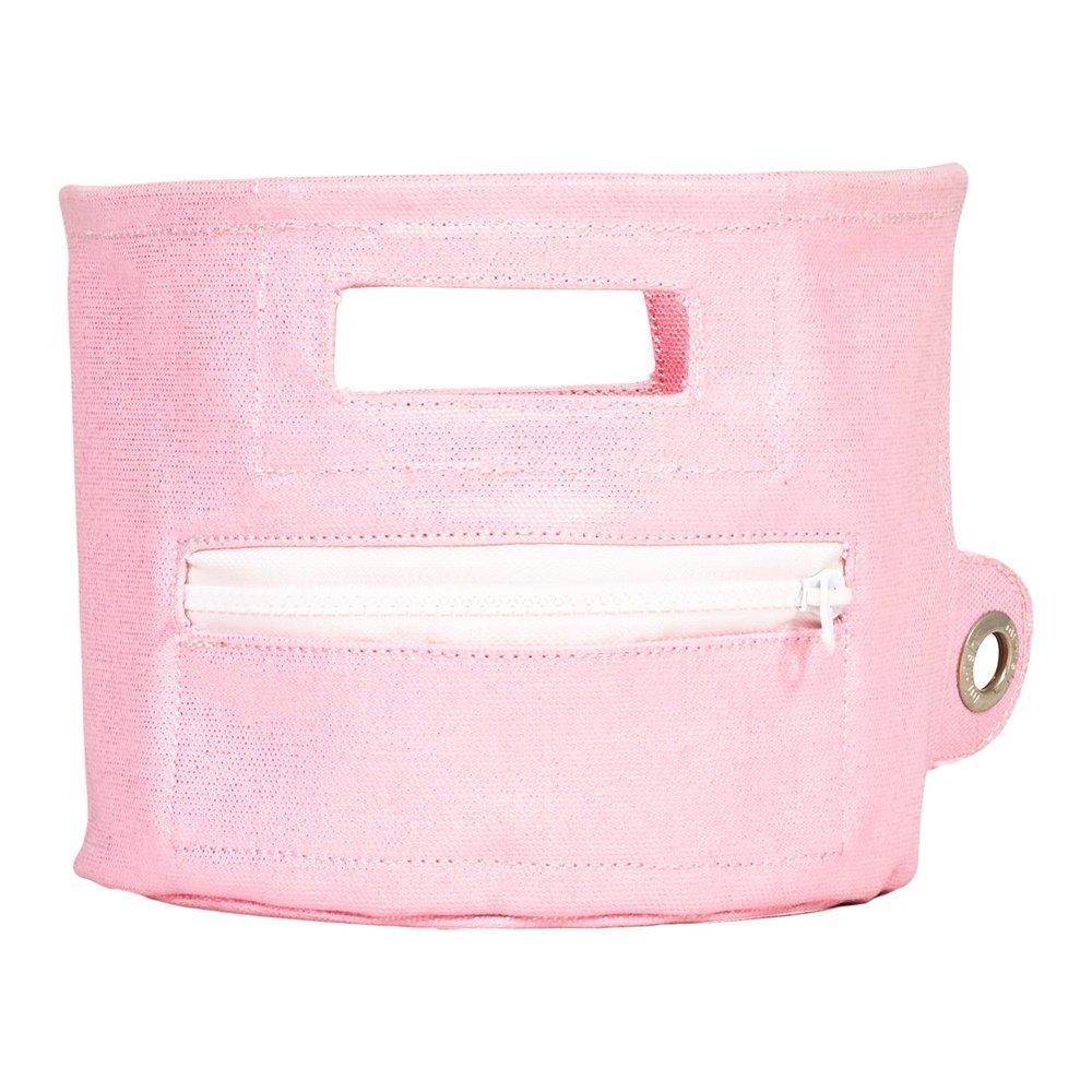 pink storage bin