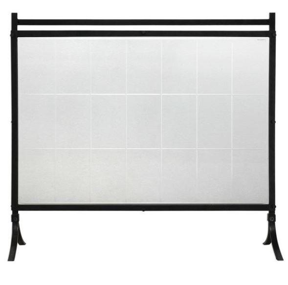 Iron & Glass Stand