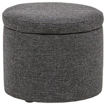 rivet ottoman in colors