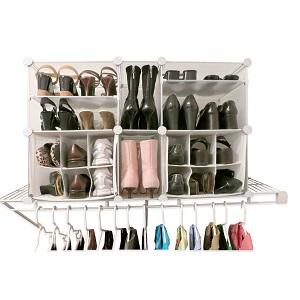 modular shoe organizer