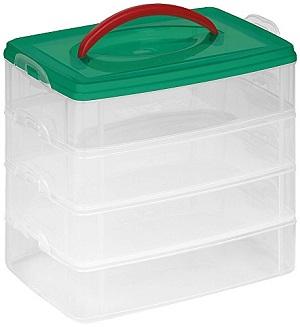 snap n' stack storage box