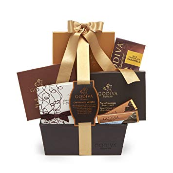 godiva chocolate lovers basket