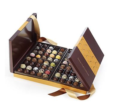 godiva G collection belgian truffles
