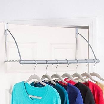 over-the-door closet valet