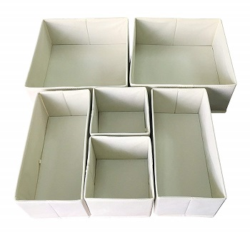 foldable storage bins