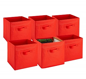 foldable boxes in colors