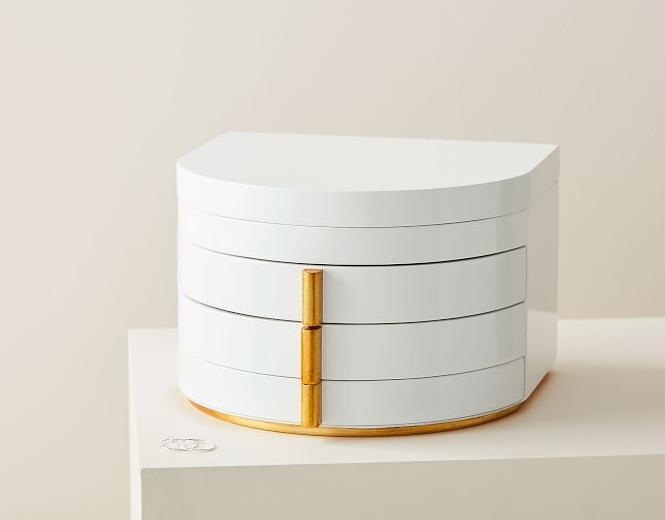 west elm modern lacquer box