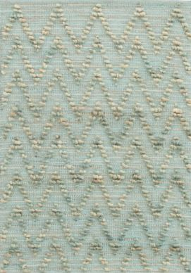 chevron cotton jute rug