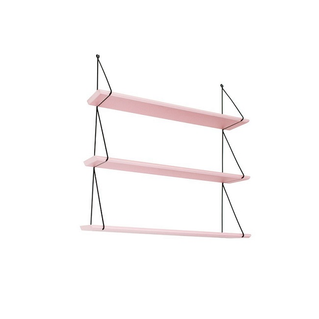 Babou pale pink shelves