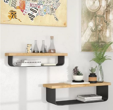 cosima floating shelves