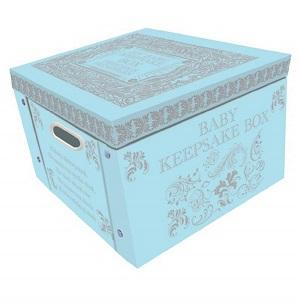 baby keepsake box in colors