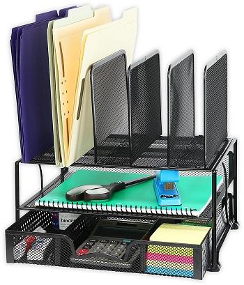 mesh desk organizer