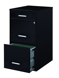 office dimensions file cabinet